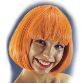"""Parrucca """"Pin up"""" arancione in busta"""