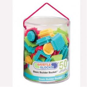 Bristle Blocks costruzioni base in secchio 50 pezzi