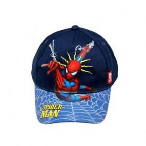 Cappellino Spiderman blu