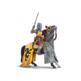 Cavaliere a cavallo con spada: Leoni Schleich