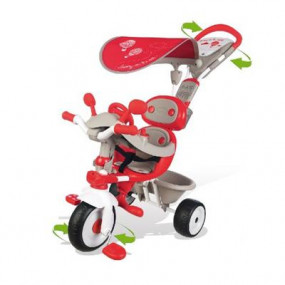 Triciclo baby driver comfort rosso