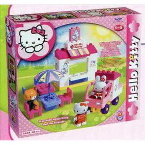 La gelateria di Hello Kitty costruzioni