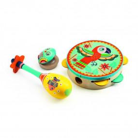 Animambo set 3 strumenti musicali
