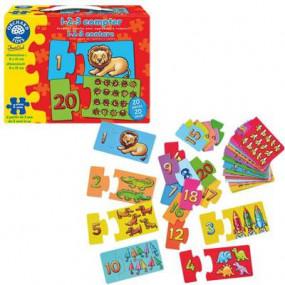 1-2-3 puzzle per imparare a contare