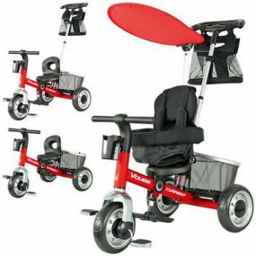 Triciclo Evolutivo Rosso Tutto in Uno