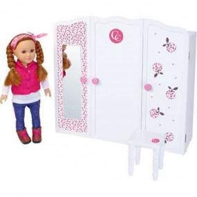 Armadio grande per bambole