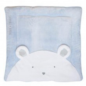 DOUDOU ET COMPAGNIE-tappeto orso blu