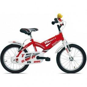 Bicicletta Duffy rosso bimbo 675 MTB16