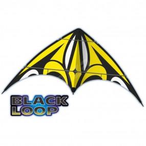 Aquilone black 160x80cm