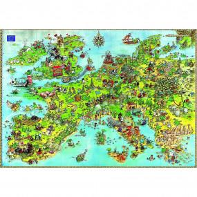 "Heye VD-8854 Puzzle Triangolare Marino Degano ""United Dragons"""