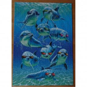 Puzzle 1000 pezzi delfini