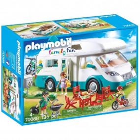 Family Fun Summer Caravan Playmobil (135 pcs)