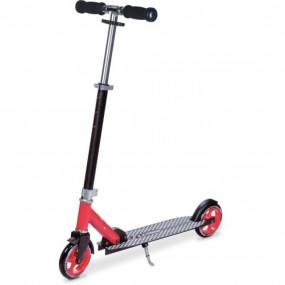 Monopattino 2 ruote 145mm nero/rosso
