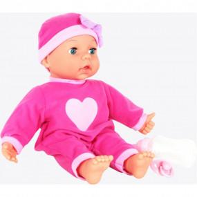 Bambola amia interattiva 10 funzioni 38cm