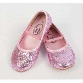 Scarpetta glitter rosa tg. 28