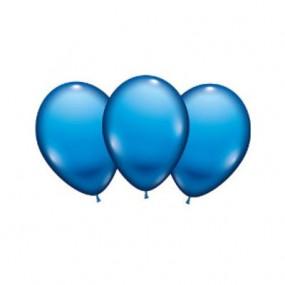 8 palloncini blu lattice