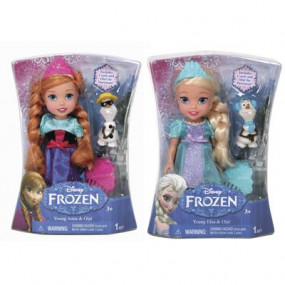 Anna o Elsa Frozen cm. 15