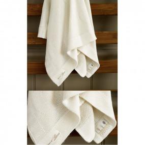 Coperta in maglia di bamboo Pure Love