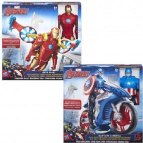 Avengers personaggio con mezzo 30cm
