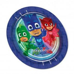 8 piatti carta PJ masks