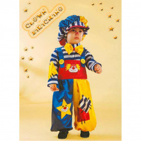 Clown birichino costume 0/1 anni