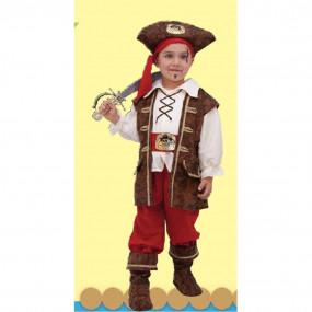 Capitano dei corsari costume 2/3 anni