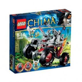 70004 Lego Chima - Il Fuoristrada Lupo di Wakz 8-14 anni