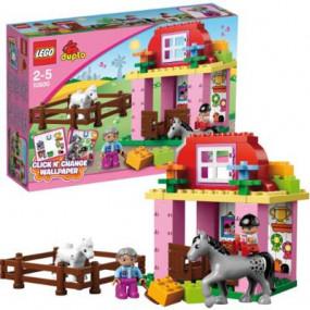 10500 Lego Duplo La scuderia 2-5 anni