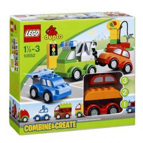 10552 Lego Duplo Crea le tue macchinine 1/2-3 anni