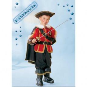 Costume D'Artagnan tg. 9/10 anni