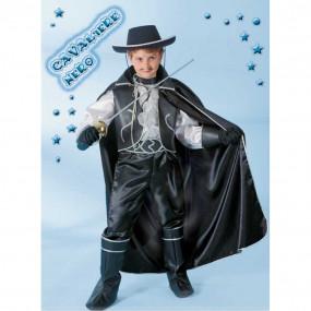 Cavaliere nero costume 9/10 anni