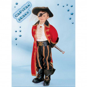 Capitan Drake costume 5/6 Anni