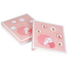 Album Foto coniglietto rosa Dou Dou et Compagnie