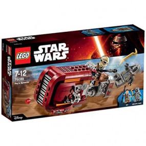 75099 Lego Star Wars Rey's Speeder 7-12 anni