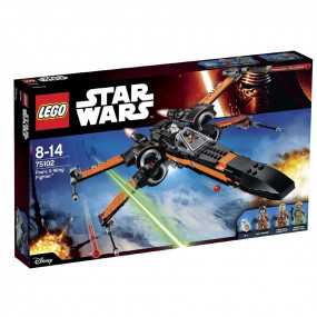 75102 Lego Star Wars Poe's X-Wing Fighter 8-14 anni