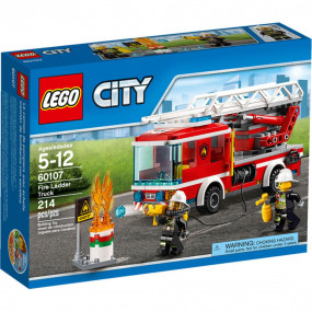 60107 Lego City Autopompa dei vigili del fuoco 5-12 anni