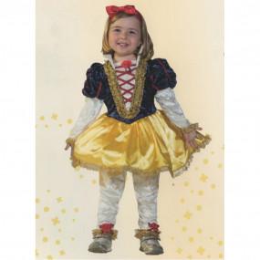 Biancaneve costume 0/1 anni