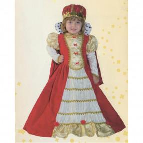 Baby queen costume 2/3 anni