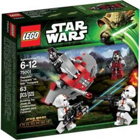 "75001 Lego Star Wars ""Republic Troopers vs. Sith Troop"" 6-12 ann"