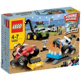10655 Lego Mattoncini Gara di fuoristrada 4-7 anni