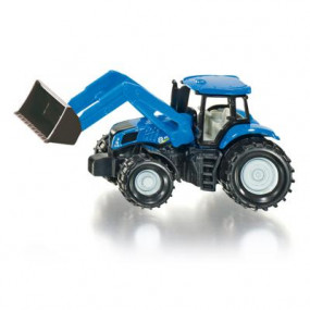 1355 Trattore New Holland con ruspa Siku
