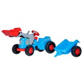 023196 Deutz-Fahr con rimorchio e ruspa Rolly Toys