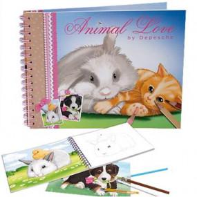 Album da colorare Animal Love