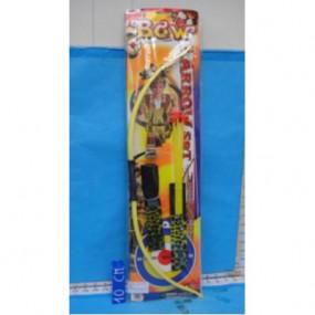 Arco indiano con frecce e pugnale giocattolo