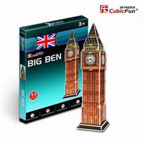 Big Ben, London 3D Mini Puzzle