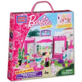 MegaBloks Barbie Salone di bellezza dei cucciolii 4+
