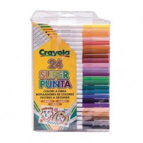 24 pennarelli superpunta Crayola