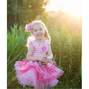 Abito Fairy Blooms rosa