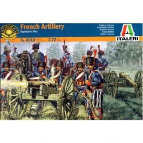 Artiglieria francese 2 cannoni e figurini