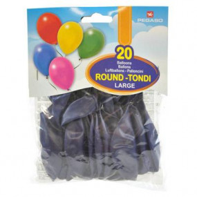 20 palloncini gonfiabili blu